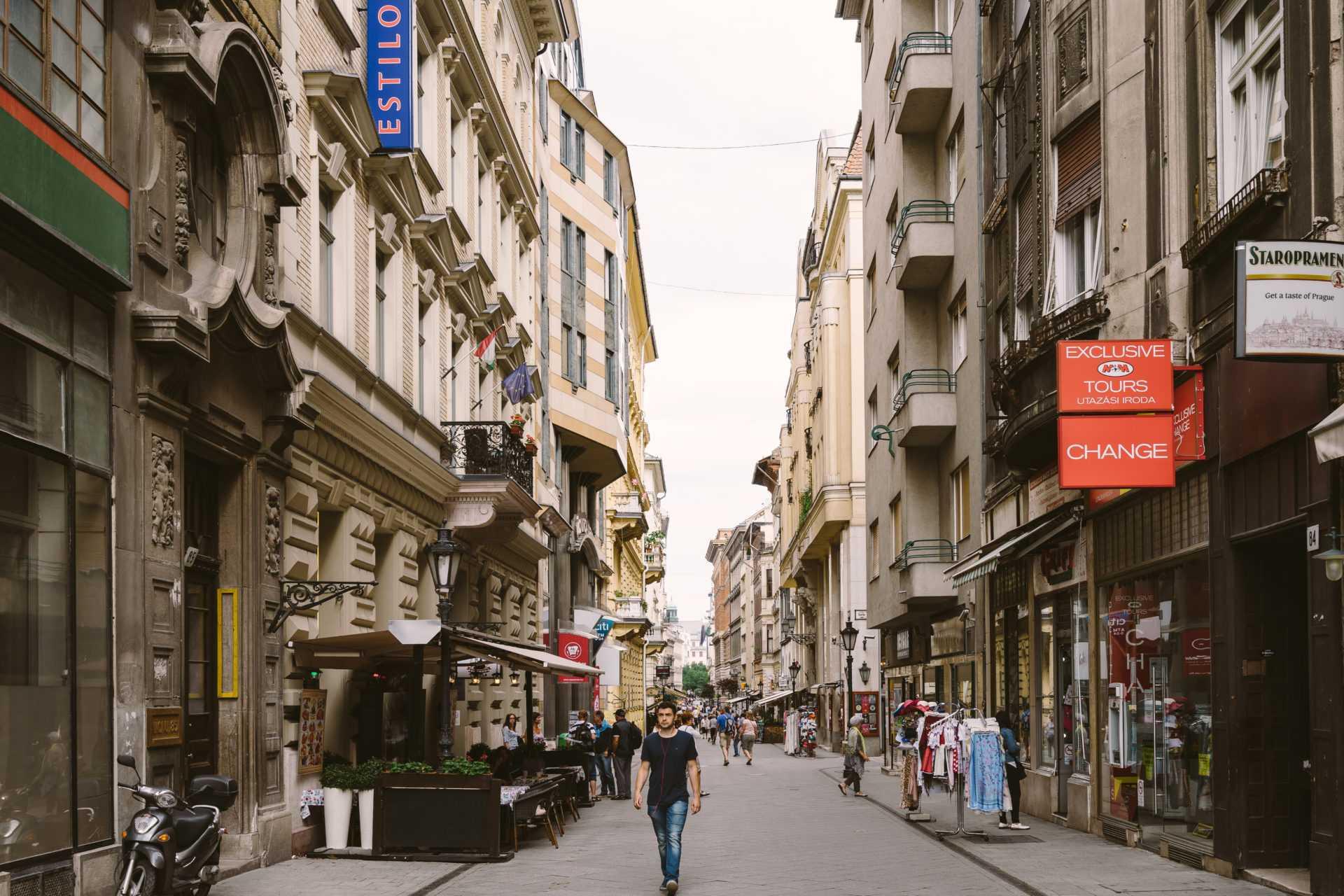 מדרחוב ואצי בודפשט