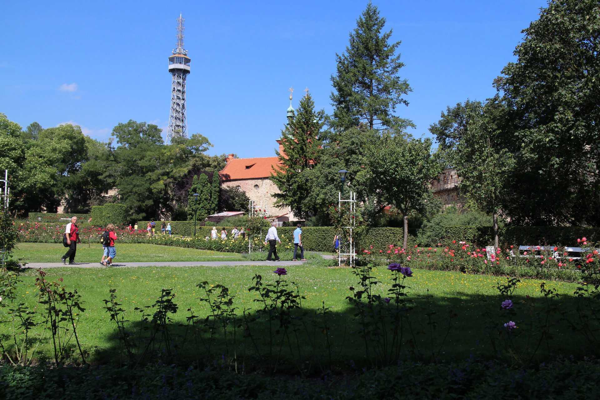 גבעת פטרין בפראג
