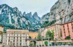 הר המונסראט - מרחק שעה מברצלונה