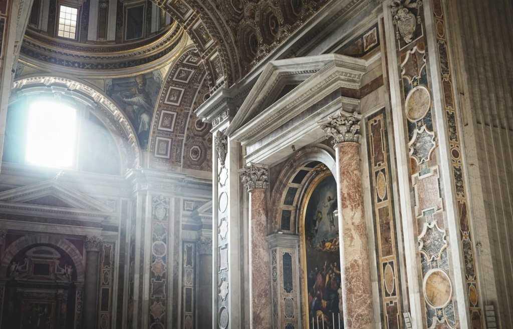 בזיליקת פטרוס הקדוש ברומא
