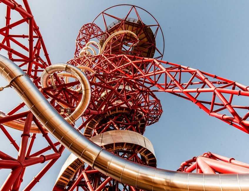 המגלשה במגדל אורביט לונדון 2021 - כרטיסים, מחירים ומידע נוסף