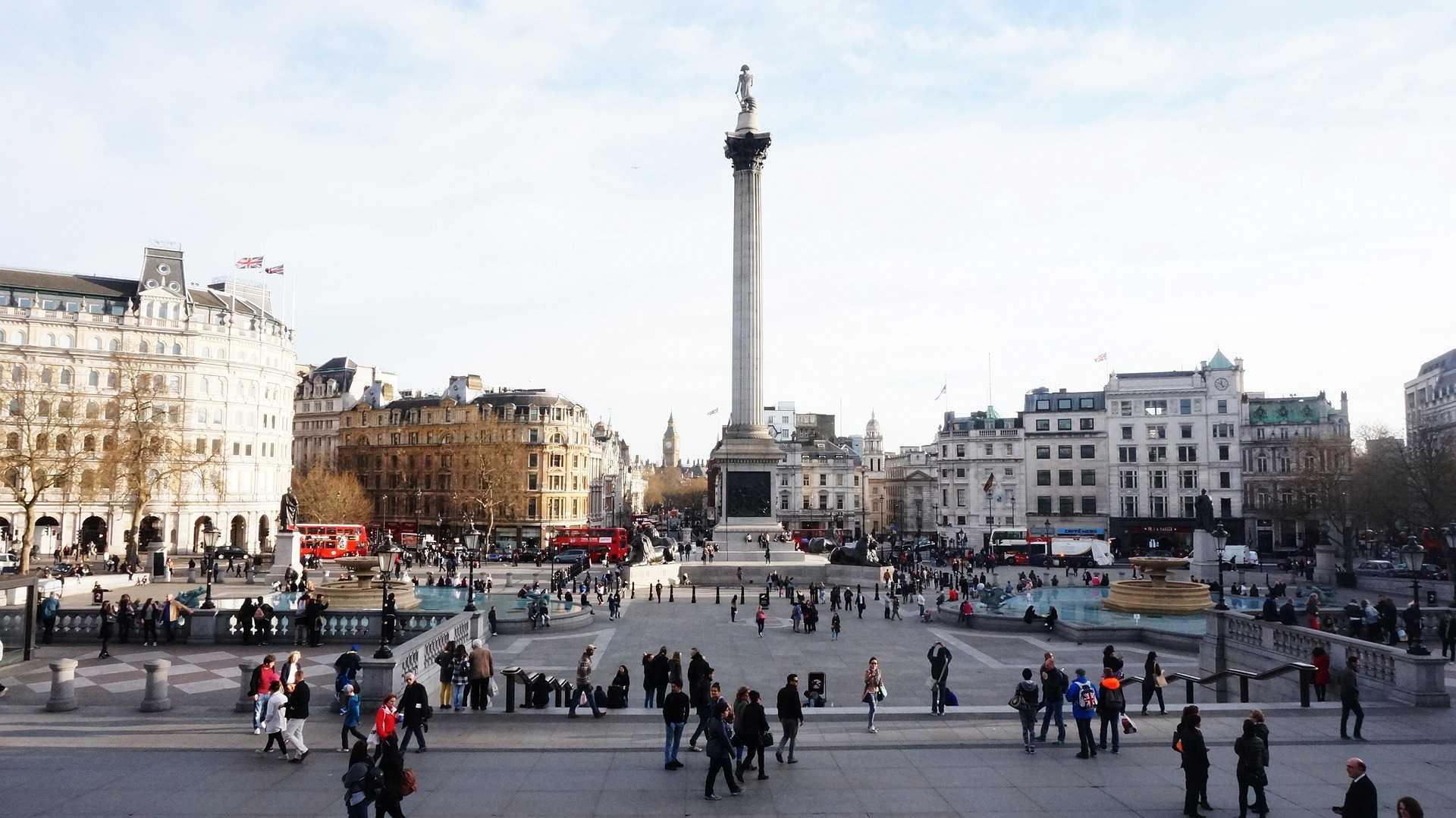 כיכר טרפלגר לונדון 2021 - אטרקציות, מלונות ומסעדות