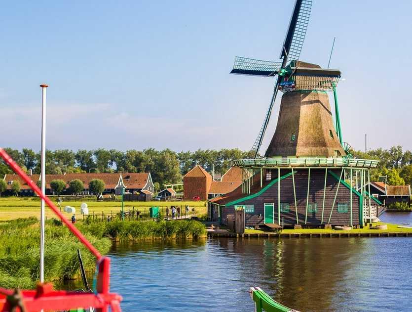 וולנדם, זאנסה סכאנס ומארקן 2021 - טיול בכפרי הדייגים בהולנד
