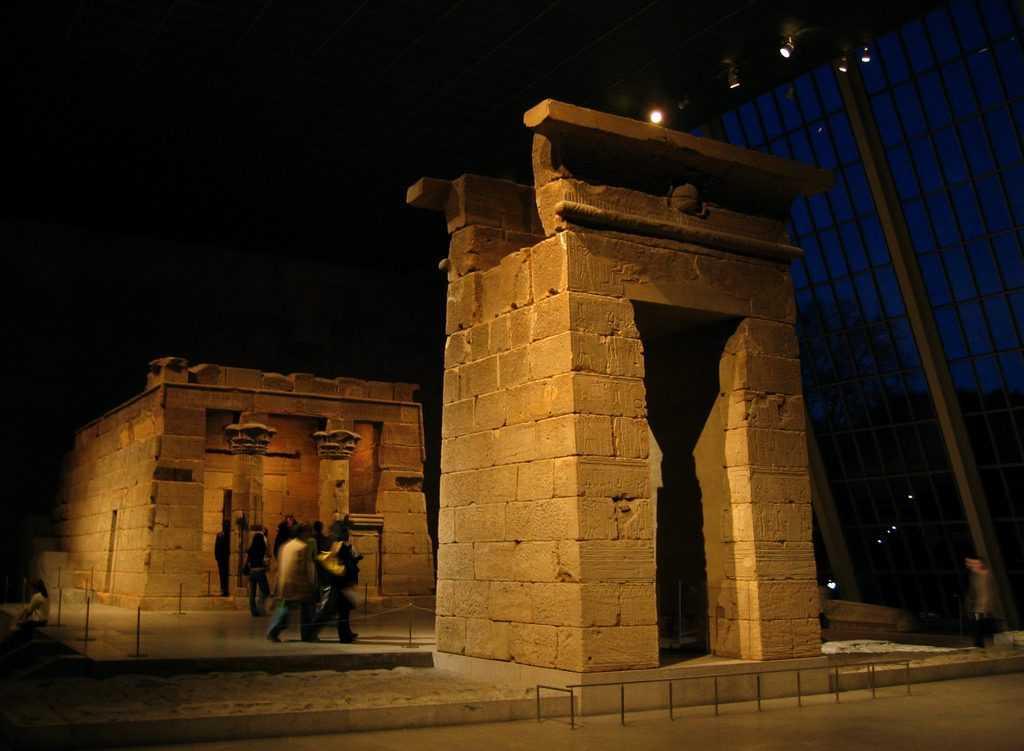 מקדש דנדור במוזיאון המטרופוליטן