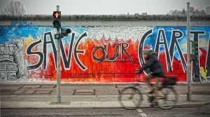 חומת ברלין המפורסמת