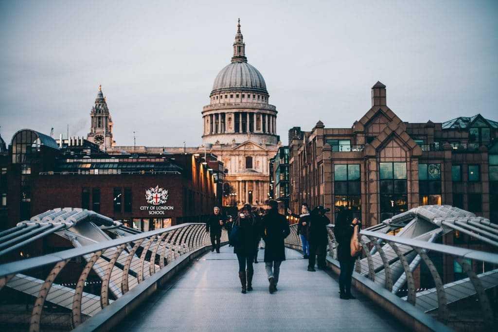 מסלולי טיול בלונדון
