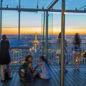 התצפית ממגדל מונפרנאס