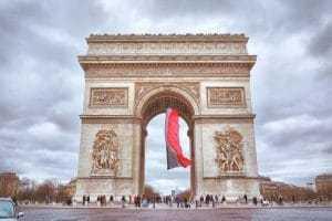 שער הניצחון פריז צרפת