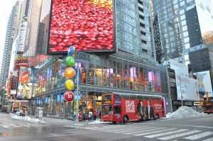 חנות הדגל של M&M בניו יורק - פנינה אמיתית למשפחות עם ילדים