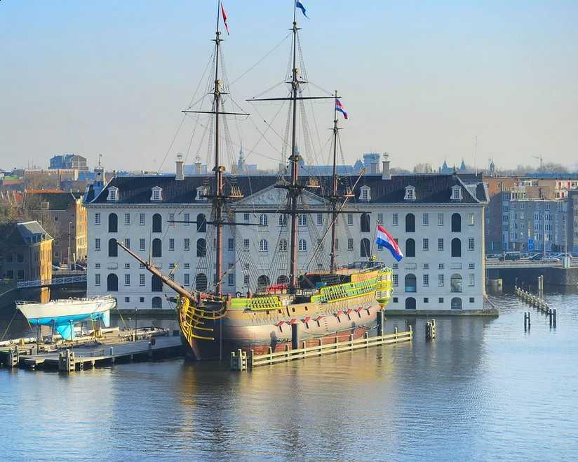 המוזיאון הימי הלאומי אמסטרדם