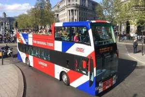 אוטובוס תיירים בלונדון 1
