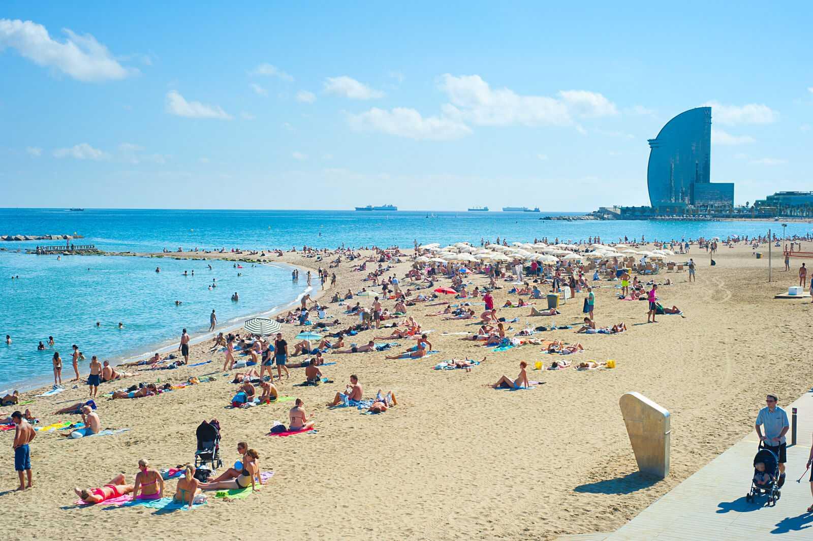 מלונות ליד חוף הים בברצלונה