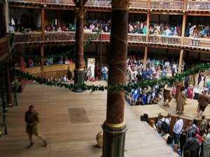 סיור בתיאטרון הגלוב של שייקספיר לונדון