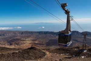 עלייה להר הגעש טיידה בטנריף באמצעות הרכבל המפורסם