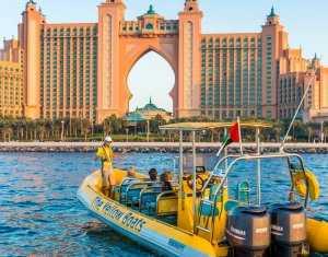 שייט בדובאי סירות צהובות