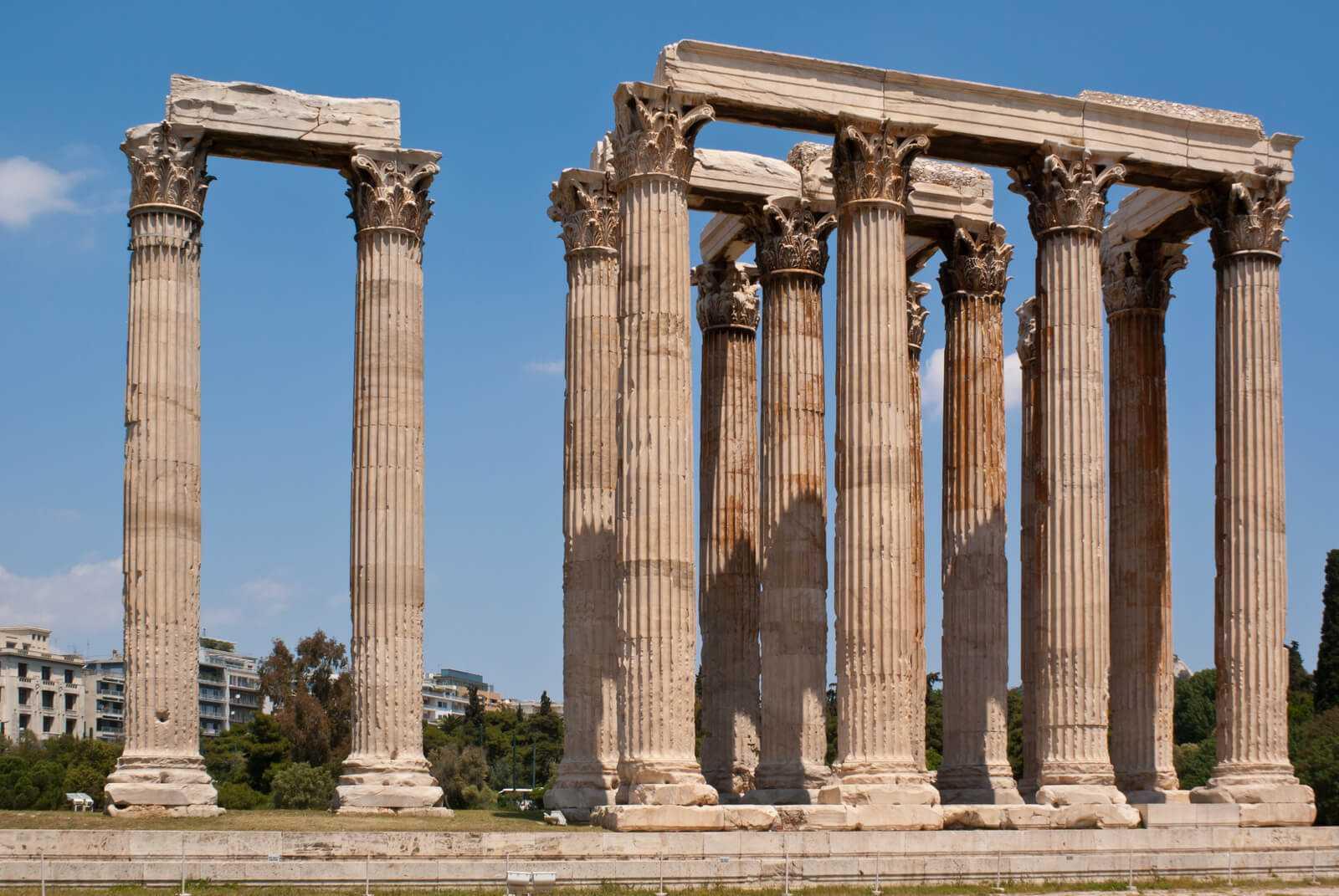 מקדש זאוס באתונה 2021 - כרטיסים, עקיפת תורים, דרכי הגעה וכל הפרטים