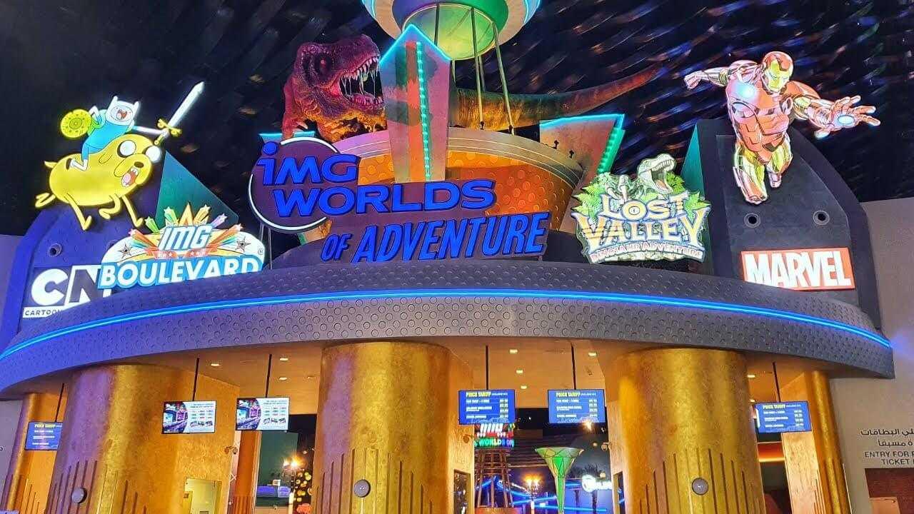 פארק IMG Worlds of Adventure דובאי - כרטיסים, מחירים וכל הפרטים!