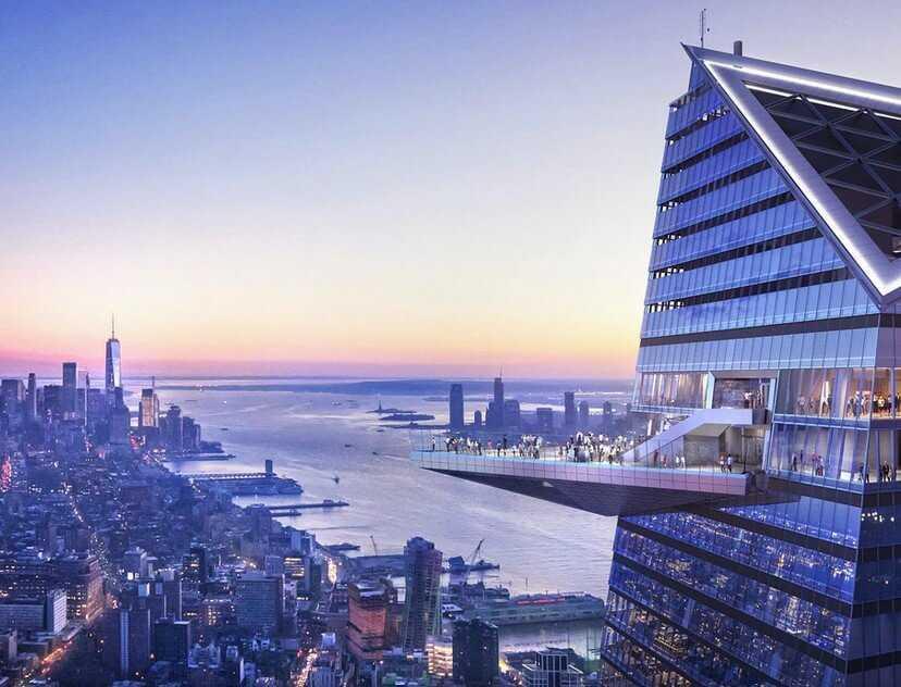 התצפית אדג' (Edge) בניו יורק - מחירים, כרטיסים, המלצות וכל הפרטים!